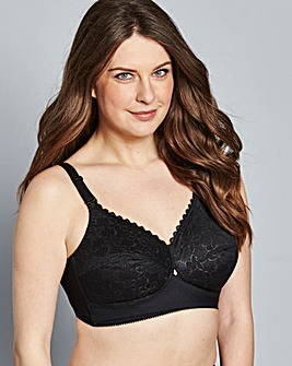 PRESS Berlei Classic Non Wired Black Bra