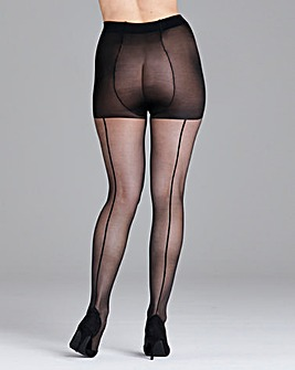 Pretty Polly Curves Back Seam Tights