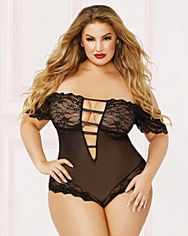 ae9d6fa39c663 Black | Babydolls & Chemises | Lingerie | Simply Be