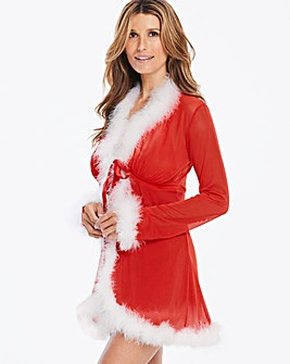 Ann Summers Sexy Miss Santa Robe