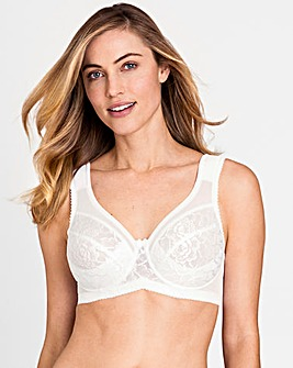 Miss Mary Queen Wired White Lace Bra