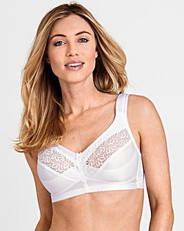Miss Mary Grace Non Padded White Bra