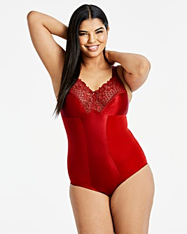 Miss Mary Summer Slimming Red Bodysuit