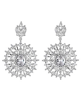 Jon Richard Sunburst Drop Earring
