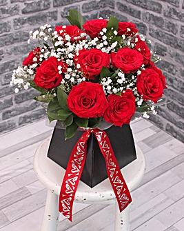 Valentine Calypso Vase Bouquet