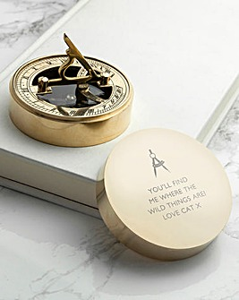 Personalised Iconic Sundial Compass