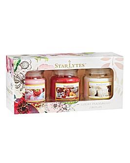 Starlytes Small Jar Candles Gift Set