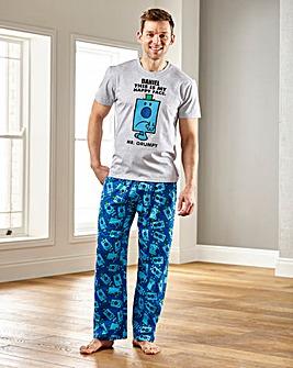 Personalised Mr Grumpy Pyjamas