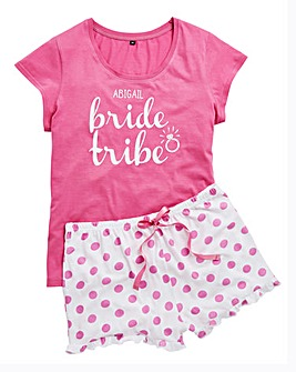 Personalised 'Bride Tribe' PJs
