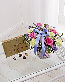 White Gift Basket Set