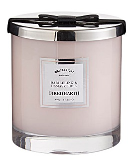 Darjeeling & Damask Rose Large Candle