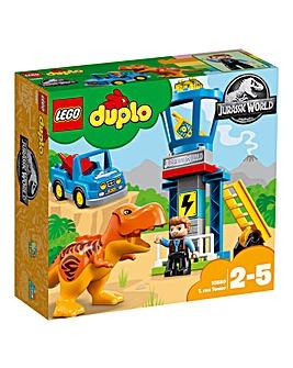 LEGO Duplo Jurassic World T.Rex Tower