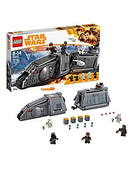 LEGO Star Wars Han Solo Imperial Conveyex Transport - 75217
