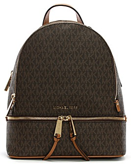 Michael Kors Logo Zip Fastening Backpack