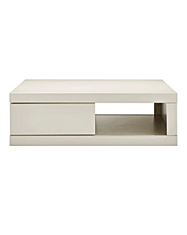 Halo High Gloss Storage Coffee Table