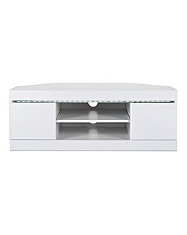 Halo High Gloss Corner TV Unit