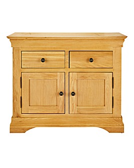 Malvern Oak Veneer Small Sideboard