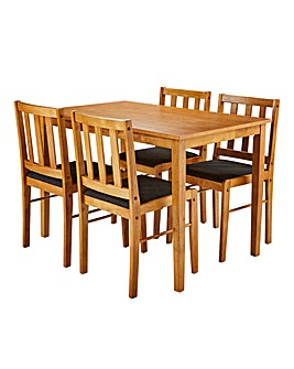 Darwen Dining Table and 4 Chairs