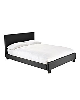 Madison Single Bed with Quilted Mattress