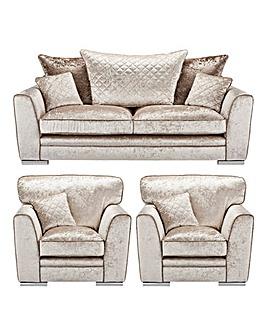 Ariana 3 Seater + 2 Chairs