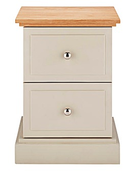 Charlbury 2 Drawer Bedside Table