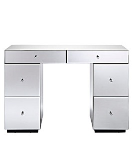Mirage Mirrored 2+4 Drawer Dressing Table