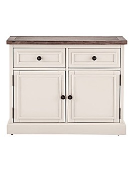Ashdawn Assembled 2 Door 2 drawer Sideboard