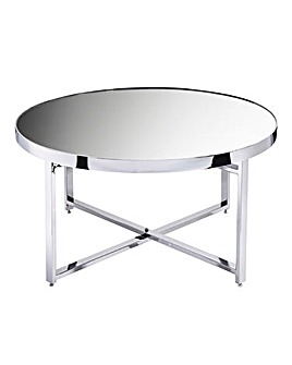Ayla Mirrored Coffee Table