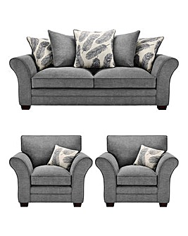 Freya 3 Seater plus 2 Chairs
