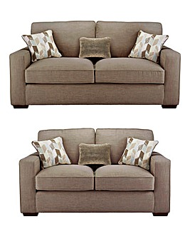 Linoso 3 Seater plus 2 Seater Sofa