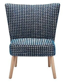 Quinn Houndstooth Accent Chair