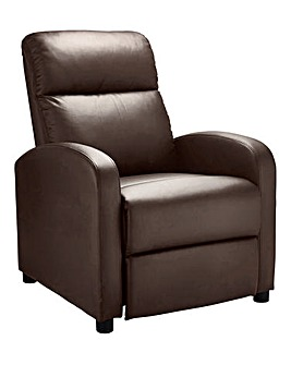 Hudson Faux Leather Recliner Chair
