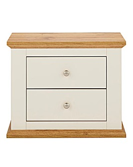 Derwent 2 Drawer Bedside Table