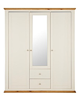 Derwent 3 Door 2 Drawer Wardrobe