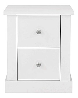 Tiverton 2 Drawer Bedside Table