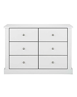 Tiverton 6 Drawer Chest
