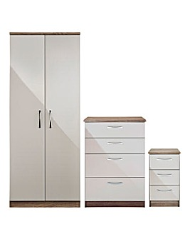 Sloane 3 Piece Bedroom Package