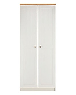 Clovelley Assembled 2 Door Wardrobe