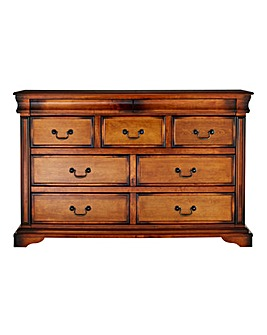 Burleigh 3 Over 4 Drawer Chest