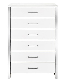 Mono 6 Drawer Tall Chest