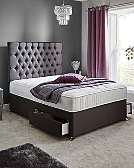 Silentnight Lunar 1000 Pocket Divan Set with 2 Drawers