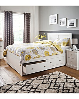 Tiverton Double Storage Bedstead