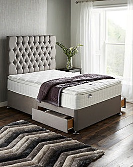 Silentnight Mirapocket Serena 1000 Pocket Pillowtop Divan Set with 2 Drawers