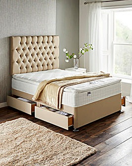 Silentnight Mirapocket Serena 1000 Pocket Pillowtop Divan Set with 4 Drawers