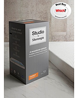 Studio By Silentnight Medium Mattress