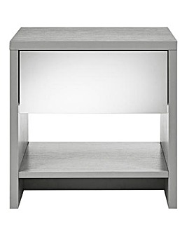 Brooklyn Mirror-Effect Side Table