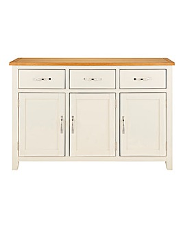 Norfolk Two Tone 3 Door Sideboard