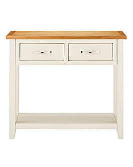 Norfolk Two Tone Console Table
