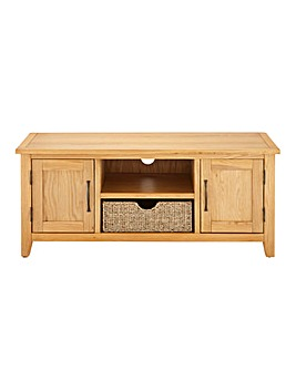 Norfolk Seagrass Large TV Unit