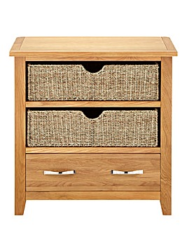 Norfolk Seagrass Console Table